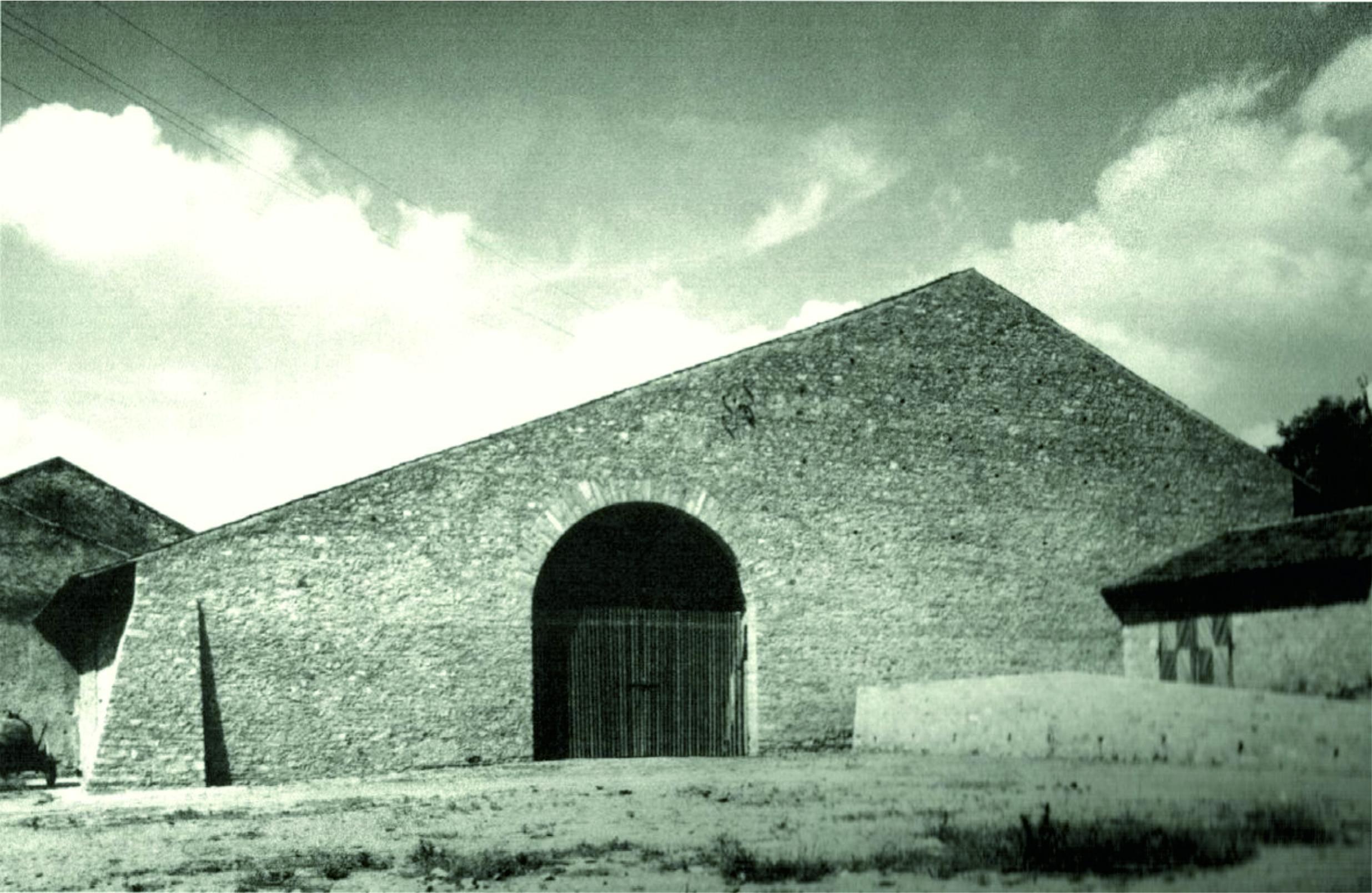 Chiesa granaio a Boust.